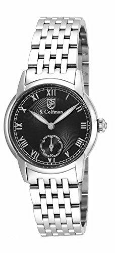インヴィクタ インビクタ 腕時計 レディース 時計 Invicta S. Coifman Black Dial Stainless Steel Ladies Watch SC0348