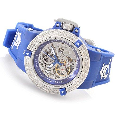 インヴィクタ インビクタ 腕時計 レディース 時計 Invicta Womens Subaqua Noma III Anatomic Diamond Accented Seagull Mechanical Blue Watch 16769