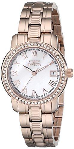 インヴィクタ インビクタ 腕時計 レディース 時計 Invicta Women's 18080 Specialty Analog Display Swiss Quartz Rose Gold Watch