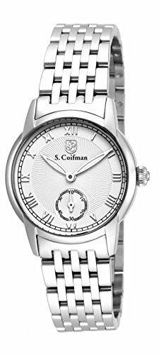 インヴィクタ インビクタ 腕時計 レディース 時計 Invicta S Coifman White Dial Stainless Steel Ladies Watch SC0347