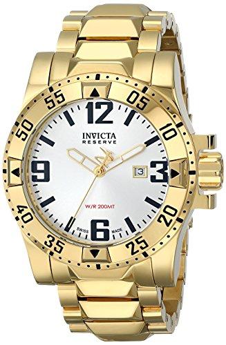 インビクタ 時計 インヴィクタ メンズ 腕時計 Invicta Men's 6249 Reserve Collection Excursion 18k Gold-Plated Stainless Steel Watch