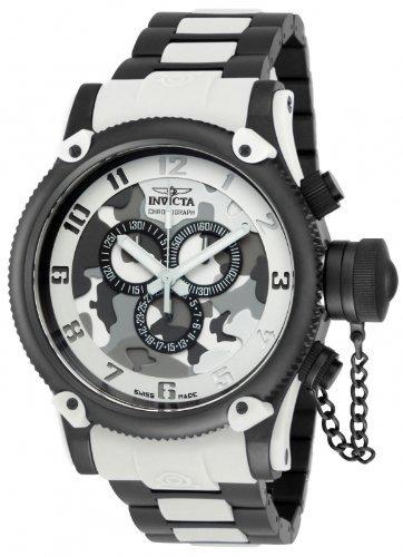 インビクタ 時計 インヴィクタ メンズ 腕時計 Invicta Men's Russian Diver Swiss Made Quartz Chronograph Bracelet Watch 11604