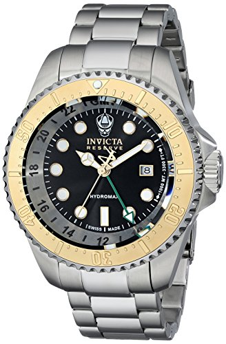 インビクタ 時計 インヴィクタ メンズ 腕時計 Invicta Men's 16960 Reserve Analog Display Swiss Quartz Silver Watch