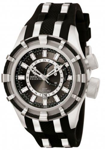 インビクタ 時計 インヴィクタ メンズ 腕時計 Invicta Men's 6435 Reserve Collection GMT Black Rubber Watch