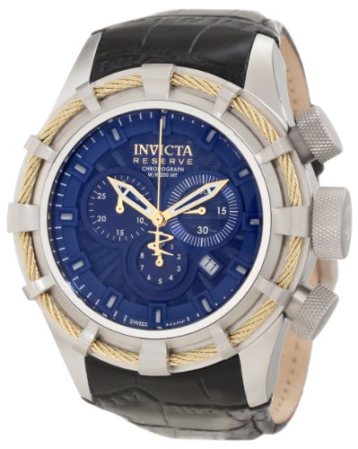 インビクタ 時計 インヴィクタ メンズ 腕時計 Invicta Men's 11045 Bolt Reserve Chronograph Royal Blue Textured Dial Watch