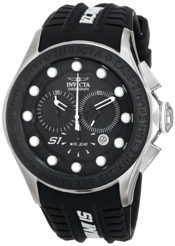 インビクタ 時計 インヴィクタ メンズ 腕時計 Invicta Men's 10840 S1 Rally Analog Display Swiss Quartz Black Watch