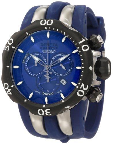 インビクタ 時計 インヴィクタ メンズ 腕時計 Invicta Men's 10836 Venom Reserve Chronograph Blue Dial Watch