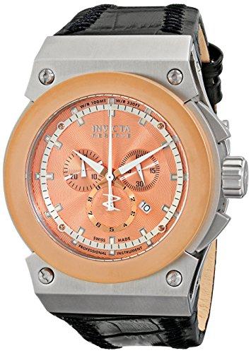 インビクタ 時計 インヴィクタ メンズ 腕時計 Invicta Men's 10949 Akula Reserve Chronograph Rose Textured Dial Watch