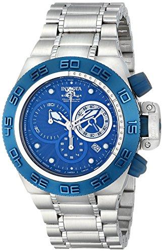 インビクタ 時計 インヴィクタ メンズ 腕時計 Invicta Men's 10150 Subaqua Noma IV Chronograph Royal Blue Textured Dial Watch