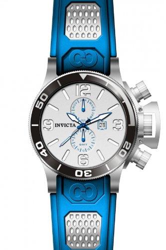 インビクタ 時計 インヴィクタ 腕時計 CORDUBA QTZ 3H SILVER DL BLUE PU:i-selection