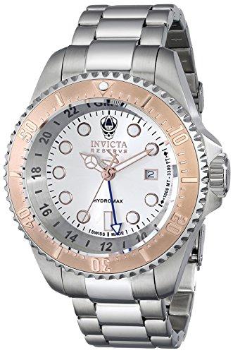 インビクタ 時計 インヴィクタ メンズ 腕時計 Invicta Men's 16964 Reserve Analog Display Swiss Quartz Silver Watch