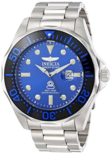 インビクタ 時計 インヴィクタ メンズ 腕時計 Invicta Men's 14655 Pro Diver Analog Display Swiss Quartz Silver Watch
