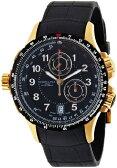 ハミルトン カーキ メンズ 腕時計 Hamilton Men's H77642333 Khaki ETO Black Chronograph Dial Watch
