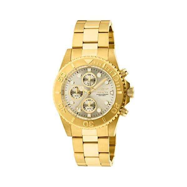 インビクタ 腕時計 INVICTA インヴィクタ 時計 プロダイバー Invicta Men's 1774 Pro-Diver Collection 18k Gold Ion-Plated Stainless Steel Watch