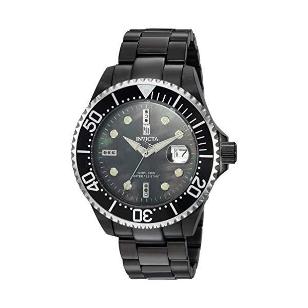 インビクタ 腕時計 INVICTA インヴィクタ 時計 Invicta Men's 'JT' Automatic Stainless Steel Casual Watch, Color Black (Model: 23718)