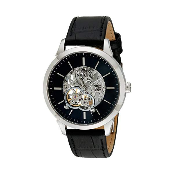 インビクタ 腕時計 INVICTA インヴィクタ 時計 スペシャリティ Invicta Men's 18136 Specialty Analog Display Mechanical Hand Wind Black Watch
