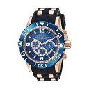 インビクタ 腕時計 INVICTA インヴィクタ 時計 プロダイバー Invicta Men's 'Pro Diver' Quartz Stainless Steel and Polyurethane Diving Watch, Color:Two Tone (Model: 23713)