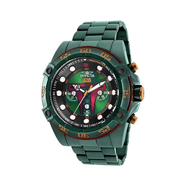 インビクタ 腕時計 INVICTA インヴィクタ 時計 スターウォーズ Invicta Men's 26544 Star Wars Quartz Multifunction Green Dial Watch