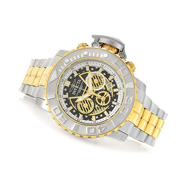 インビクタ 腕時計 INVICTA インヴィクタ 時計 シーハンター Invicta Men's 58mm Sea Hunter Gen II Swiss Quartz Chronograph Stainless Steel Bracelet Watch