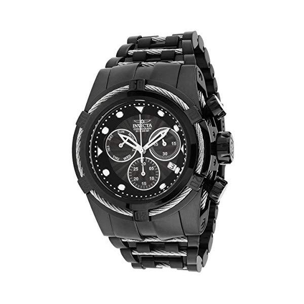 インビクタ 腕時計 INVICTA インヴィクタ 時計 ボルト Invicta Men's 'Bolt' Quartz Stainless Steel Casual Watch, Color:Black (Model: 23916)