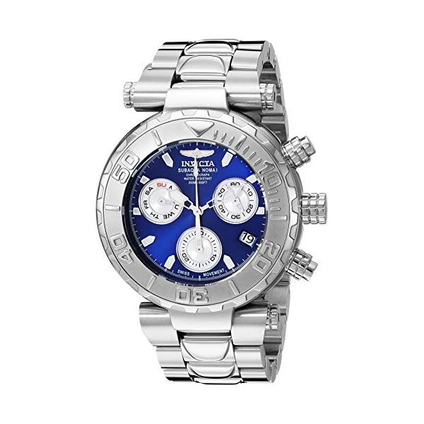 インビクタ 腕時計 INVICTA インヴィクタ 時計 サブアクア Invicta Men's 'Subaqua' Quartz Stainless Steel Casual Watch, Color Silver-Toned (Model: 25796)