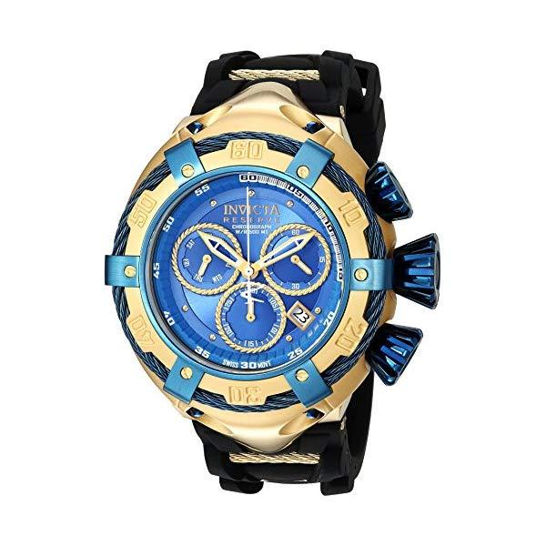 インビクタ 腕時計 INVICTA インヴィクタ 時計 ボルト Invicta Men's 'Bolt' Quartz Stainless Steel and Silicone Casual Watch, Color:Black (Model: 21354)