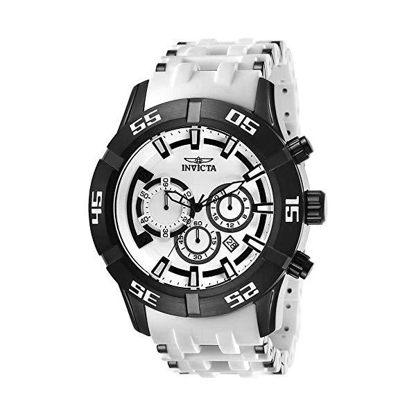 インビクタ 腕時計 INVICTA インヴィクタ 時計 シースパイダー Invicta 26537 Men's Sea Spider Quartz White Dial Chronograph Watch