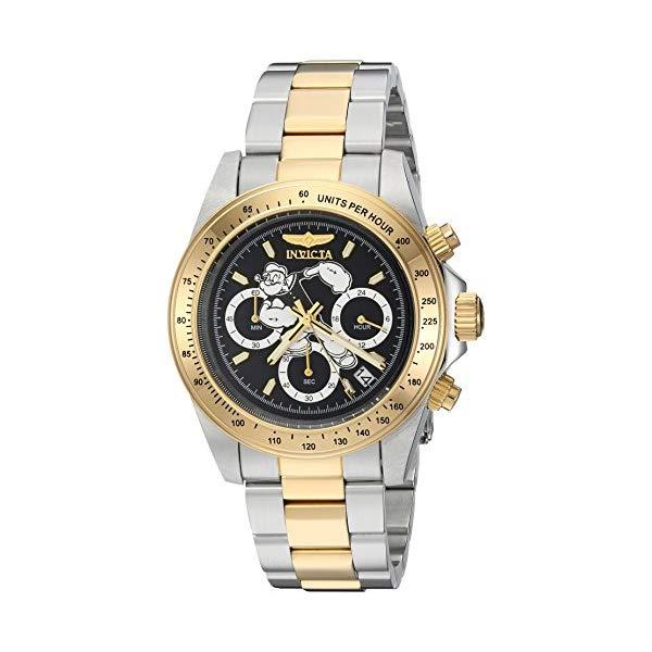 インビクタ 腕時計 INVICTA インヴィクタ 時計 キャラクターコレクション ポパイ Invicta Men's 'Character Collection' Quartz Stainless Steel Casual Watch, Color:Two Tone (Model: 24484)