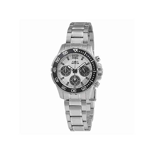 インビクタ 腕時計 INVICTA インヴィクタ 時計 プロダイバー Invicta Pro Diver Lady Chronograph Silver Dial Ladies Watch 25746