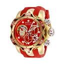 インビクタ INVICTA インヴィクタ 腕時計 ウォッチ MARVEL 27176 マーベル アイアンマン メンズ 男性用 Invicta Men's Marvel Stainless Steel Quartz Watch with Silicone Strap, red, 26 (Model: 27176)