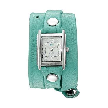ラメール コレクションズ 腕時計 La Mer Collections LMSTWGMA14005 レディース ウォッチ 女性用 La Mer Collections Women's 'La Mer Collections Women's Mint Silver Triple Wrap Watch' Quartz Silver-Toned Leather Casual Watch (Model: LMSTWGMA14005)