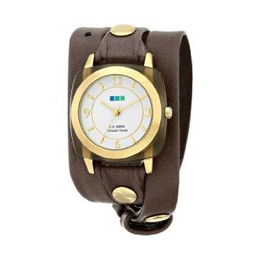 ラメール コレクションズ 腕時計 La Mer Collections LMACETATE002 レディース ウォッチ 女性用 La Mer Collections Women's LMACETATE002 Smokey Quartz Acetate Wrap Watch