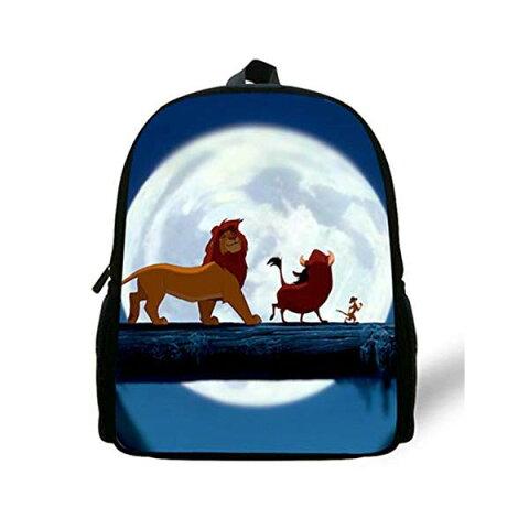 ライオンキング リュック バックパック バッグ カバン 鞄 グッズ おもちゃ ディズニー Simba The Lion King Backpack Kids Boys Cartoon The Lion King School Bags