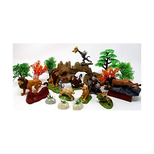 コレクション, フィギュア  LION KING Play Set Featuring Random Lion King Figures and Accessories, May Include Simba, Scar, Mufasa, Nala, Rafiki, Timon, Pumbaa Figures