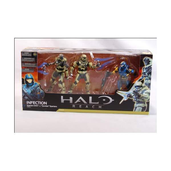 コレクション, フィギュア  Infection - Spartan ODST v Zombie Spartans - Halo Reach - Series 4 Action Figure Set 15 cm by McFarlane
