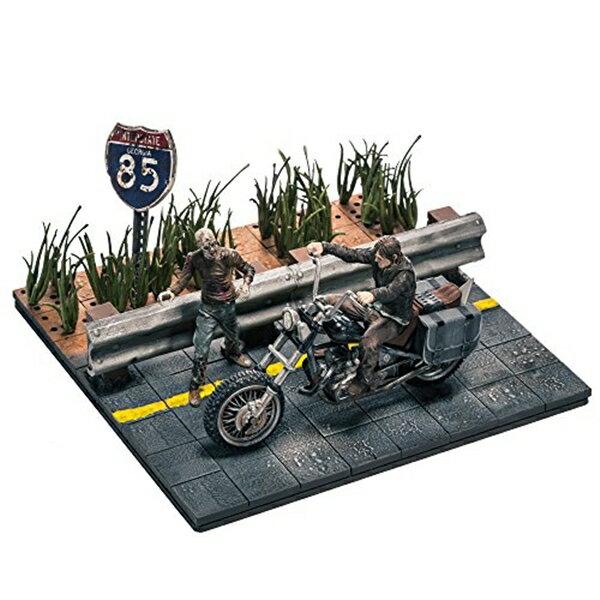マクファーレン トイズ ウォーキングデッド アクションフィギュア ダイキャスト McFarlane Toys Building Sets - The Walking Dead TV Daryl Dixon with Chopper Building Set Assortment