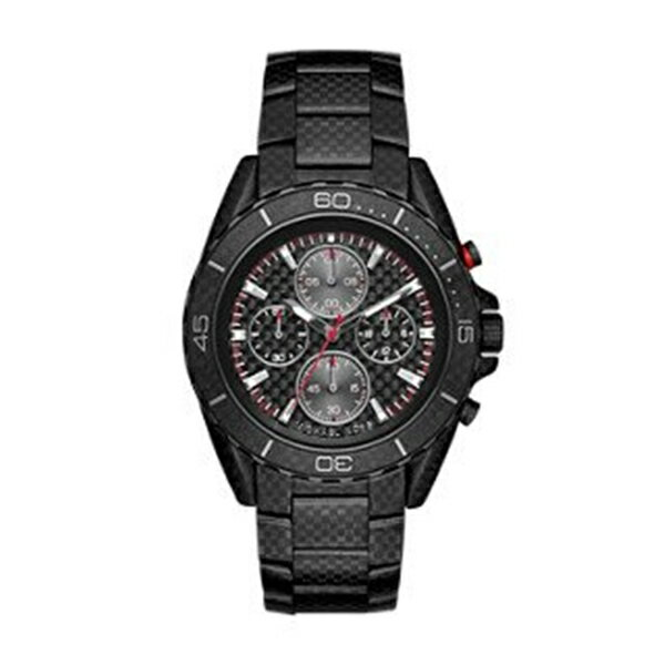 腕時計, メンズ腕時計  Michael Kors Michael Kors Mens Jet Master Black Watch MK8455