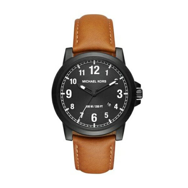 マイケルコース Michael Kors メンズ 腕時計 時計 Michael Kors Men's Paxton Black Watch MK8502