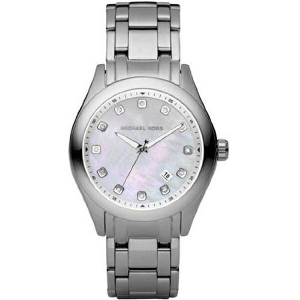 マイケルコース Michael Kors レディース 腕時計 時計 Michael Kors Quartz, Silver Stainless Band White Dial - Women's Watch MK5325
