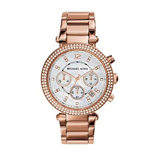 マイケルコース Michael Kors レディース 腕時計 時計 Michael Kors Parker Rose Gold Watch MK5491