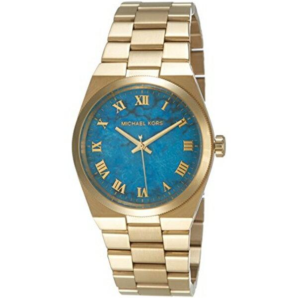 マイケルコース Michael Kors レディース 腕時計 時計 Michael Kors Channing Blue Dial SS Quartz Ladies Watch MK5894