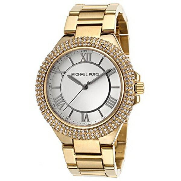 マイケルコース Michael Kors レディース 腕時計 時計 Michael Kors Slim Camille Gold-Tone Ladies Watch MK3277