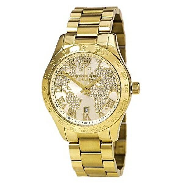 マイケルコース Michael Kors レディース 腕時計 時計 Michael Kors MK5959 Ladies Layton Chronograph Gold Watch