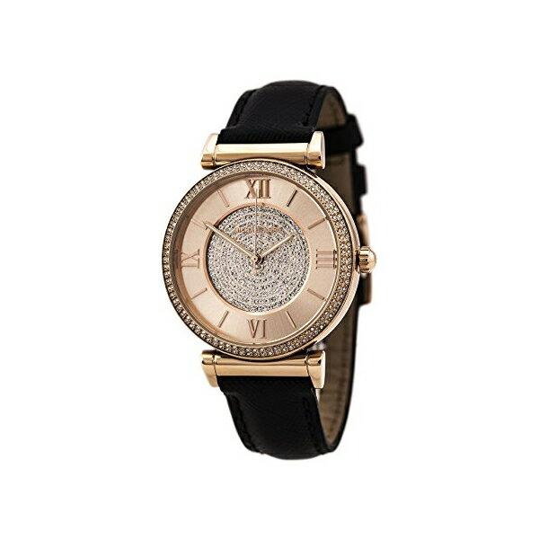 マイケルコース Michael Kors レディース 腕時計 時計 Michael Kors Watches Catlin Leather Watch (Black)