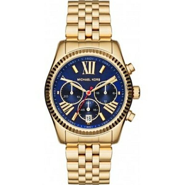 マイケルコース Michael Kors レディース 腕時計 時計 Michael Kors MK6206 Ladies Lexington Gold Plated Chronograph Watch:i-selection