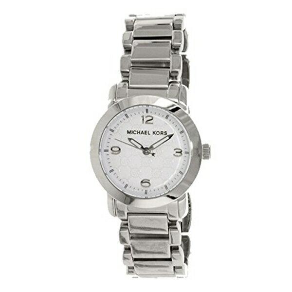マイケルコース Michael Kors レディース 腕時計 時計 Michael Kors Women's MK3157 Silver Stainless-Steel Quartz Watch