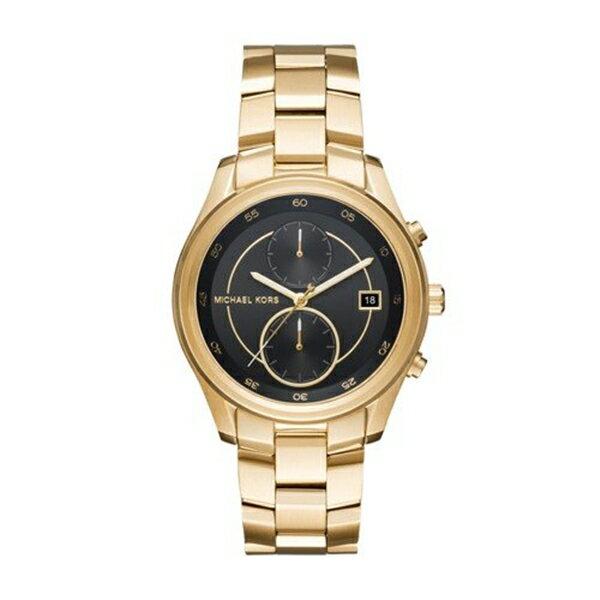 マイケルコース Michael Kors レディース 腕時計 時計 Michael Kors Women's Quartz Stainless Steel Casual Watch, Color:Gold-Toned (Model: MK6497)