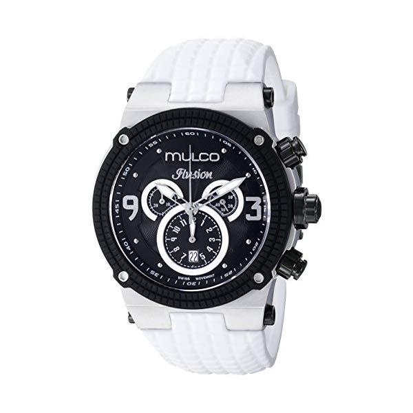 マルコ 腕時計 MULCO MW3-12140-015 ユニセックス 男女兼用 ウォッチ MULCO Unisex Ilusion Analog Display Swiss Quartz Watch - Multifunctional Silicone Band