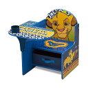 ライオンキング シンバ ディズニー キッズデスク チャイルドデスク キッズチェア デスクセット 子供用 勉強机 子供机 入学祝 入園祝 卒園祝 お誕生日 プレゼント 自宅学習 Delta Children Chair Desk with Storage Bin, Disney The Lion King