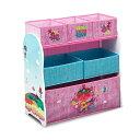 トロールズ ワールドツアー おもちゃ 収納 おもちゃ箱 お片付け ラック 棚 収納 キッズ ボックス 子供 部屋 おしゃれ 入学祝 入園祝 卒園祝 お誕生日 プレゼント Delta Children Design & Store 6 Bin Toy Storage Organizer, Trolls World Tour